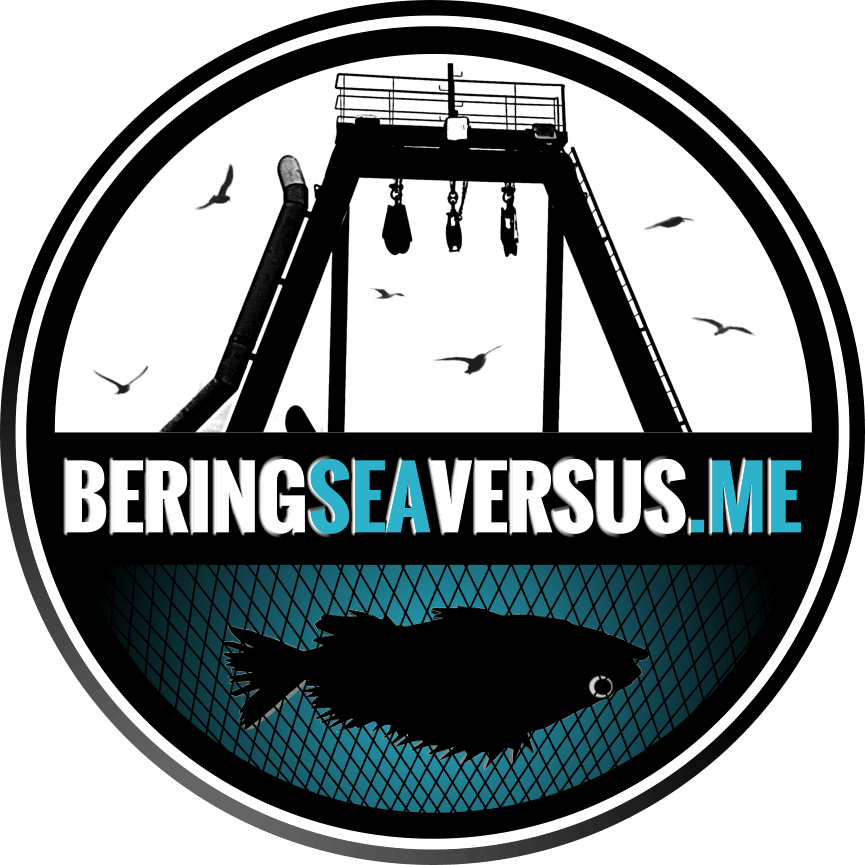 About the work of fishermen in the Bering Sea.