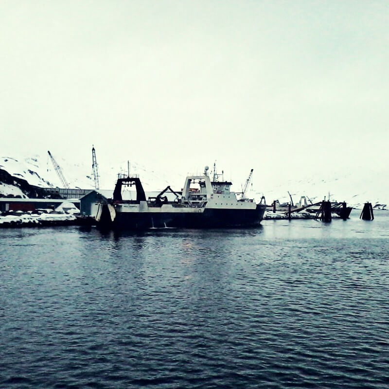 Trawler in Dutch Harbor