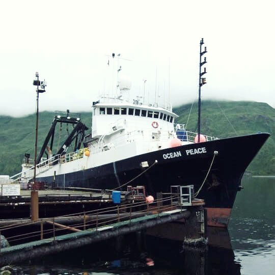Fishing vessel Ocean Peace in Dutch Harbor